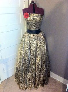 Items similar to Lovely in Leopard on Etsy Ceremony Dresses, Bridesmaid, Couture, Trending Outfits, Awesome, Unique Jewelry, Handmade Gifts, Clothes, Vintage