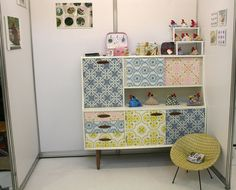 cool upcycled sideboard