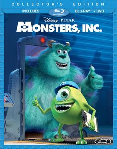 Love the fact that the monsters in Disney Pixar' Monsters, Inc. are not scary! #disneymovies