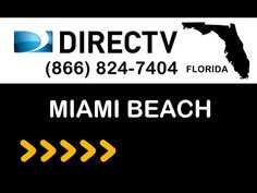 Miami-Beach FL DIRECTV Satellite TV Florida packages deals and offers