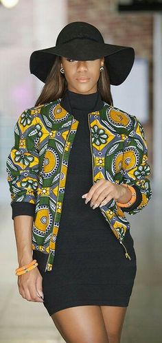 ❤African Print in Fashion
