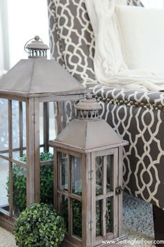Lantern Love | Decorating, Rounding and Holidays