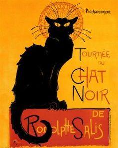 Tournee du Chat Noir, c.1896 Poster Print by Theophile Alexandre Steinlen,