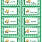 Cute Bee Labels