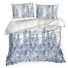 Komplet dwukolorowej pościeli ADRIANA z serii ELLA LINE wykonany został z przewiewnej i miłej dla ciała tkaniny bawełnianej, której zaletą jest trwałość i komfort cieplny Comforters, Spy, Pattern, Blue, Products, Creature Comforts, Quilts, Patterns, Model