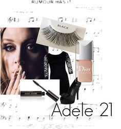 """""""Love Adele"""" by julie-chadwick on Polyvore"""