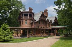 Mark Twain's house, Hartford.