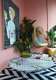 Colorful Porch- design addict mom