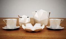 set de table en porcelaine par svetlana kozhenov