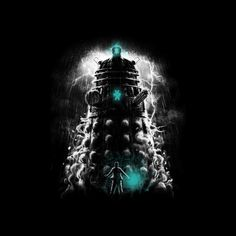 Shadow of the Dalek by Fuacka - Shirt sold on October 10th at http://teefury.com - More by the artist at https://www.facebook.com/mrfuacka