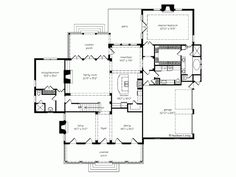 Plantation House Plan with 3758 Square Feet and 5 Bedrooms from Dream Home Source | House Plan Code DHSW55389