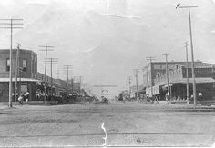 Wills Point, Texas before bricks and White Rose Monument