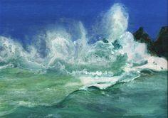 "Willi Gottschalk,Öl auf Holz, ""Bretonische Küste"" Painting, Outdoor, Ideas, Water, Outdoors, Painting Art, Paintings, Outdoor Games, Painted Canvas"