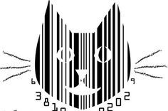 Marvelous and Unusual Example of Barcodes Barcode Art, Barcode Design, Logo Design, Graphic Design, Pop Art Images, Black And White Doodle, Art Criticism, T Shirt Painting, Patriarchy