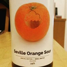 Superb orangy sourness. - Drinking a Seville Orange Sour by Cloudwater Brew Co