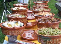 Mexican Buffet - Una taquiza! Set up