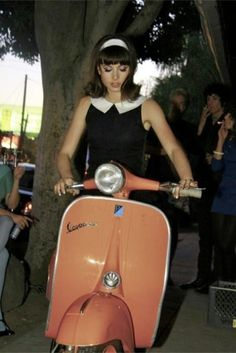 #moda #60s #vespa