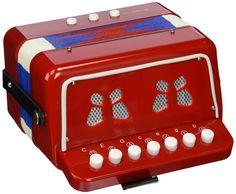 Vilac 8300 1er Age - Acordeón de juguete, color rojo y azul [Importado de Francia]: Amazon.es: Juguetes y juegos