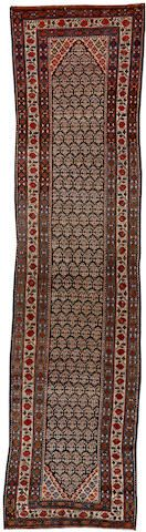 Malayer runner  Central Persia  circa 1910  size approximately 3ft. 2in. x 12ft. 10in.