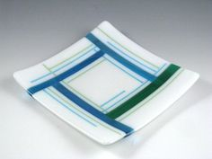 Sunflower Glass Studio | Sunflower Glass Studio | Fused Glass | Water Lines
