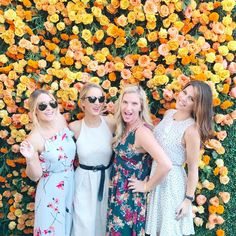Lauren Conrad and friends wearing Paper Crown at the 2016 Veuve Clicquot Polo Classic