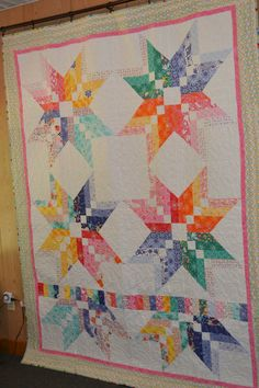 BINDING TOOL STAR Quilt by CottonHillQuiltz on Etsy. Donated to SASS