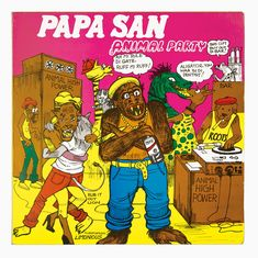 In-fine-style_the-dancehall-art-of-wilfrid-limonious_animal-party-scar-face-music-1986