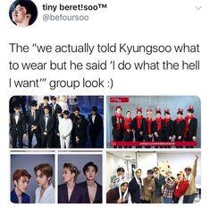 actually kyungsoo its all up to you Exo Ot12, Chanbaek, Kyungsoo, Chanyeol, K Pop, Steven Universe, Xiuchen, Exo Do, Funny Kpop Memes