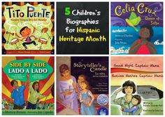 5 children's biography books for Hispanic Heritage Month. Biographies are a good way to show the lives of real people in other countries. Famous Latinos, Text To Text Connections, Learn Spanish Online, Teaching Spanish, Spanish Classroom, Classroom Ideas, Biography Books, Hispanic Heritage Month, Reading Rainbow