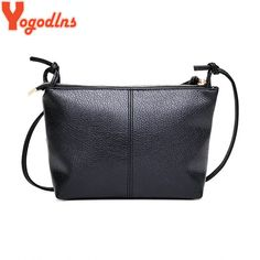 Yogodlns New & Hot 2017 Fashion Casual Shoulder Bag - Cross-Body Bag - PU Leather Mini Handbags, Cheap Handbags, Cross Body Handbags, Leather Purses, Leather Handbags, Pu Leather, Vintage Bags, Vintage Handbags, Vintage Ideas
