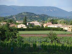 Liberot-das Dorf Perotet nahe Abt