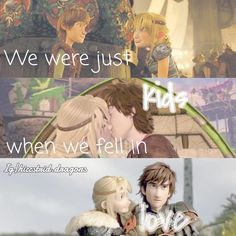 """144 Me gusta, 2 comentarios - hєч (@hiccstrid.dragons) en Instagram: """"*cough* proud of this edit *cough* ~ Yet its ugly I know ~ Tags: #hiccup #hiccuphaddock…"""" < Cute Hiccstrid. :)"""