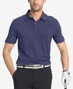 Izod Men's Striped Performance Golf Polo