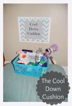 Cool Down Cushion-Unique strategy to help prevent behavior problems from escalating. Classroom Setting, Future Classroom, Classroom Decor, Behavior Management, Classroom Management, Behavior Tracker, Behavior Goals, Class Management, Calm Down Kit