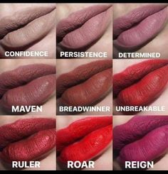 What's your favorite? This long-lasting liquid lipstick dries in 2 minutes. Nu Skin Powerlips Fluid goes on smooth, with a silky consistency, ensuring that color looks bold and stays fresh with every application. Lipstick Tutorial, Brown Eyed Girls, Long Lasting Lipstick, Glamour, Makeup Dupes, Makeup Cosmetics, It Goes On, Lipstick Colors, Liquid Lipstick