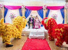 indian wedding bride groom ceremony http://maharaniweddings.com/gallery/photo/11679