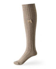 Wool Bed Socks Camel
