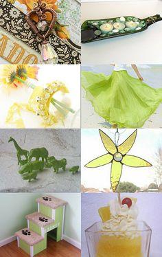 Fresh Spring Items Looking For You... by sylvia on Etsy--Pinned with TreasuryPin.com #Etsy #EtsyRMP #PayItForward