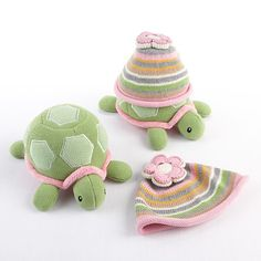 Rosenberry Rooms has everything imaginable for your child's room! Share the news and get $20 Off  your purchase! (*Minimum purchase required.) Turtle Toppers Baby Hat and Turtle Plush Gift Set in Pink