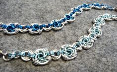 Swirl Pools Bracelet Chainmaille Tutorial by iMailleDesigns