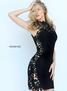 c10cdca712e Sherri Hill 50608 Dress.  sherrihill  promdress  prom  blackdress