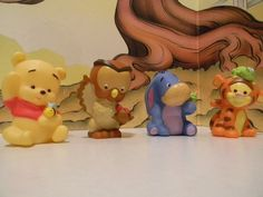 Fisher Price Little People Disney Winnie The Pooh Character Lot of 4 | eBay