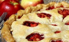 Apple Raspberry Rhubarb Pie - ahh I've been looking for a good recipe for this!