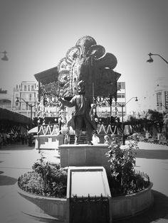 La plaza de sahuayo con su tlahualil