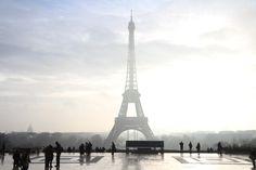 Eiffel Tower taken from Place de Trocadéro