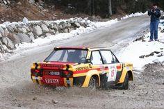 Gravel-munchin' turn by the Fiat 131 Abarth!