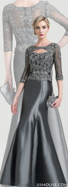 Sophisticatedly elegant. You will be the focus in this gorgeous gown! #Motherofthebridedress