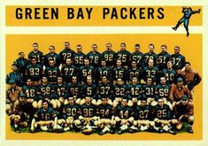 Green Bay Packers Team | 1960 Topps Green Bay Packers Team #60 Football Card