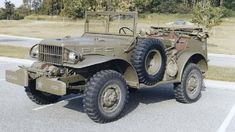 The direct ancestors of the peacetime Dodge Power Wagon were 3/4-ton T214-series four-wheel-drives like this World War II radio command car.