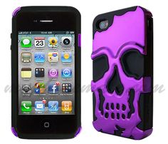 ipohne with skull case | APPLE CASES / COVERS, MyPhoneMate.com
